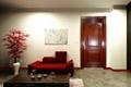 柚木高檔室內室內實木復合門MPD-02 1