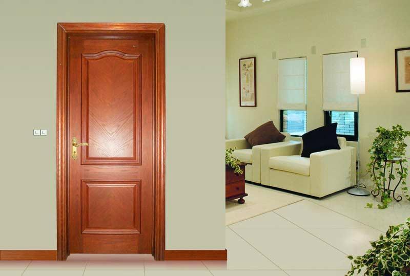 柚木高檔室內室內實木復合門MPD-02 2
