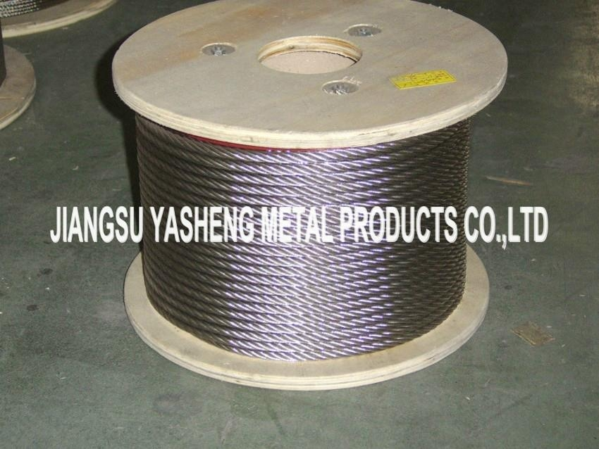 Stainless Steel Wire Rope 7X7 7X19 (AISI 304 AISI 316) - Yasheng ...