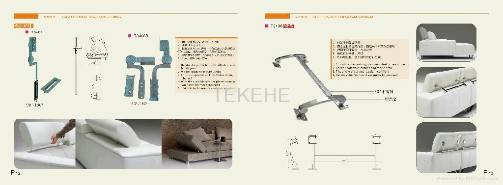 Sofa Hardware Accessories Tekehe China Manufacturer