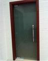 办公室贴膜玻璃隔断 2