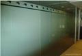 办公室贴膜玻璃隔断 3
