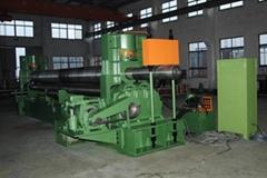 three-roller hydraulic bending machine