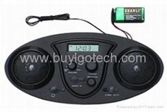 AM/FM bag radio