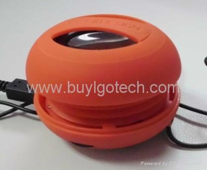 mini hamburger speaker  1