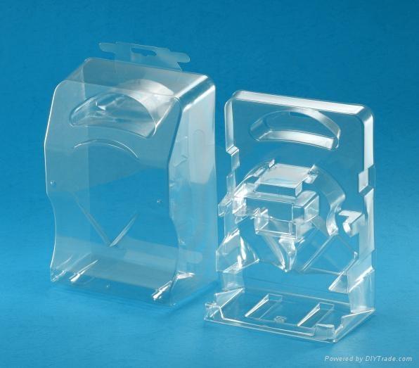 Plastic vacuum forming clamshell packaging blister packaging OEM design 2