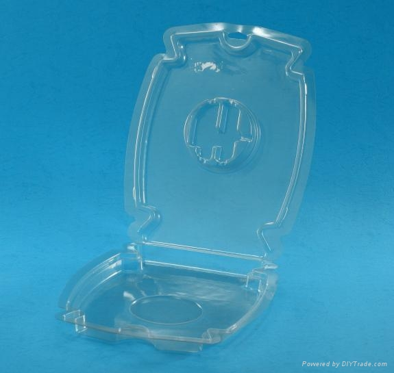 Plastic thermoformed blister packaging for consumer goods 2