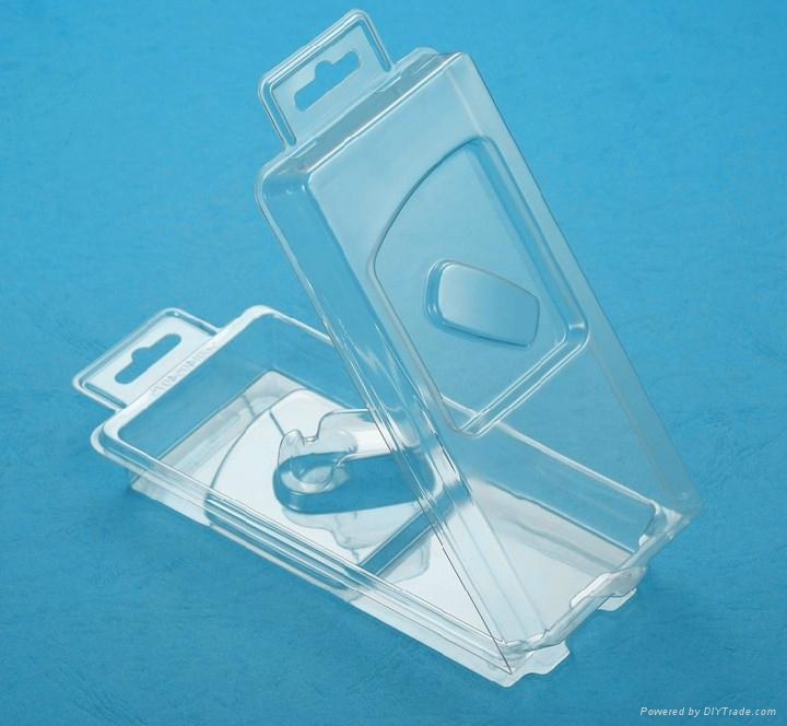 Plastic thermoformed blister packaging for consumer goods 3