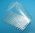 Plastic vacuum forming clamshell