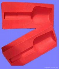 Plastic vacuum forming flocking blister packing OEM design