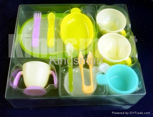 Vacuum-formed trays for Children's products 2