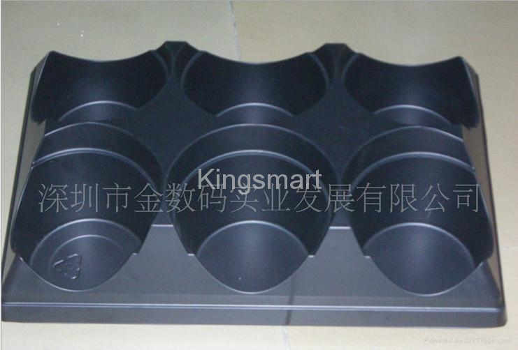 Vacuum forming plastic trays for pottings 2