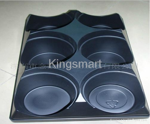 Vacuum forming plastic trays for pottings 3