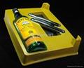 Plastic vacuum forming blister packaging for wine bottles 2