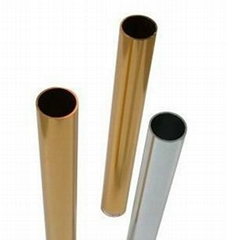 extruded aluminium tube for decoration and construction
