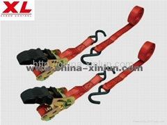 RATCHE TIE DOWN WITH SOFT HANDLE