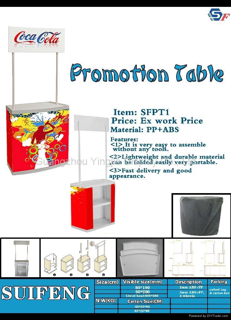 Plastic Promotion Table 3