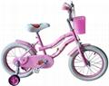 pink lovely kids bike for girls 1
