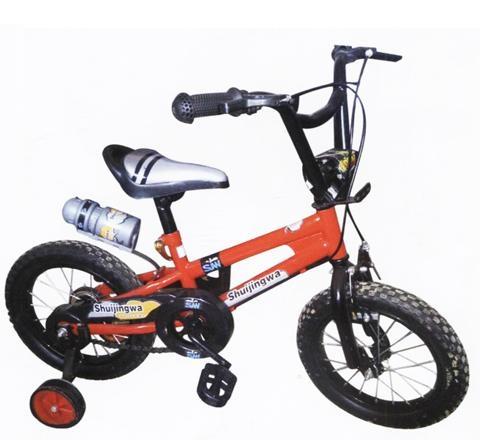Nice kids bike with water bottle 1