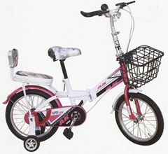 beautiful fold kids bike/children bicycle