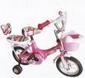Hot seller kids bike with back rest 1