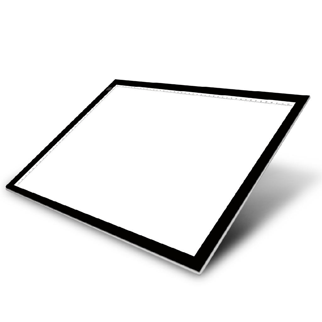 led lightbox lightpad light panel tattoo board a3 huion. Black Bedroom Furniture Sets. Home Design Ideas
