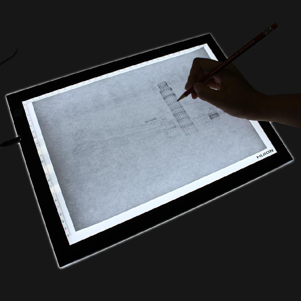 Led Lightbox Lightpad Light Panel Tattoo Board A3 Huion