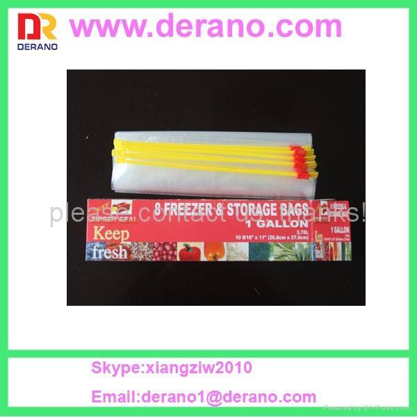 LDPE plastic slider bag 1