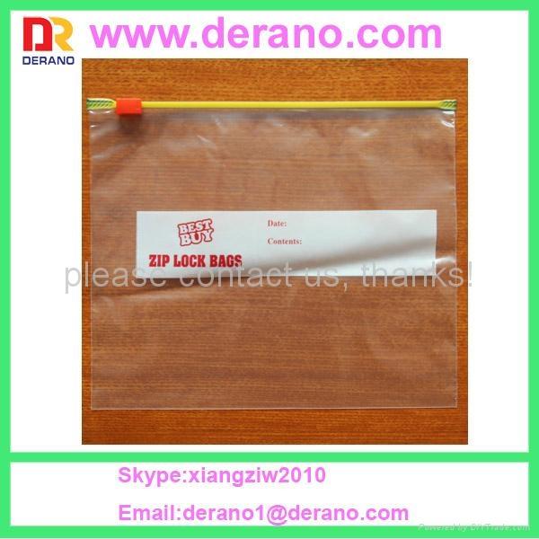 LDPE plastic slider bag 2