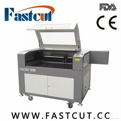 FASTCUT-6090 Acrylic fabric metal paper cnc laser engraving cutting machine