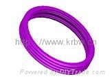 Colorful silicone molded connector seal o-ring BW-0125