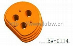 Colorful molded silicone wire seal BW-0114
