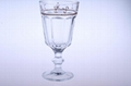 Machine-Pressed Tumbler Red Wine Goblet Glass Glass Low Price