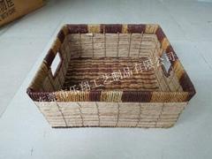 Seaweed woven basket