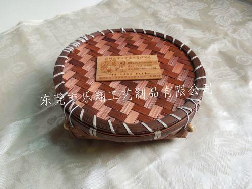竹編茶葉盒廠家 2