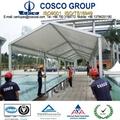 passageway shade tent at swimming pool 2