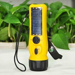 Solar Flashlight/Torch