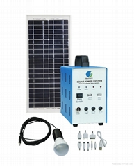35W Solar Home Systems With FM radio