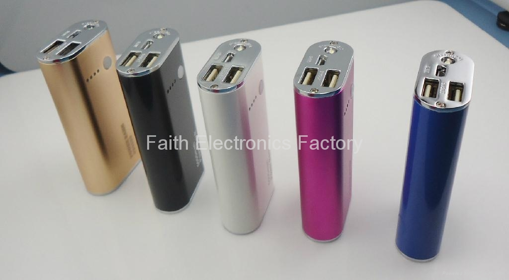 power bank 5000mAh charger for iphone, ipad, samsung, blackberry, lenovo, htc 3