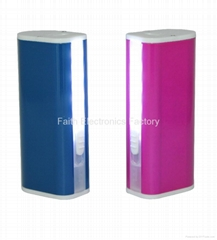 New Design portable power bank 3000mAh for iphone, samsung, ipad, camera digital
