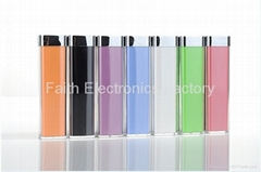 Fashion high quality 2200mAh portable power power for iphone,galaxy,htc,lenovo