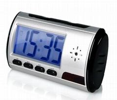 V001 Spy Clock /Multi-Fuction HD Clock Camera Video recording:HD1280X960 AVI for