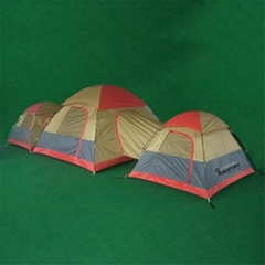 3 Rooms Family Tent