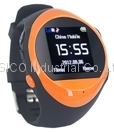 Cute GPS Phone Watch Kids Tracker+ Web Base Real-Time Tracking+MP3/4 Playe
