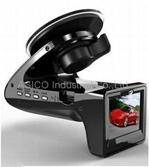 1080P Car DVR +E-dog Radar Detector