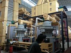 wood pellet production line 1-2 ton per hour