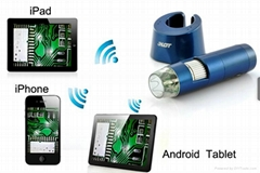 1.3MP Wireless Digital Microscope With 5X-200X Zoom for Android And iOS Devices