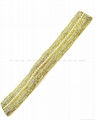 珠绣名师设计/手工钉珠/珠花边系列