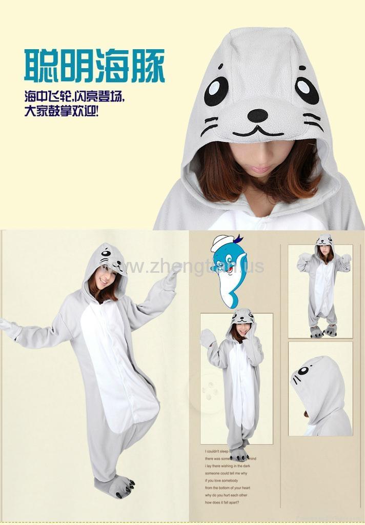 7cf23136d3 ... Unisex Kigurumi Pajamas Cosplay Anime Costume Adult Pyjamas Animal  Onesies S~XL 3 ...