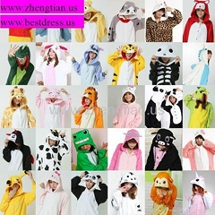 Unisex Kigurumi Pajamas Party Cosplay Anime Costumes Animal Onesie Pyjamas S~XL
